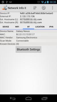 Network Info II ảnh chụp màn hình 3