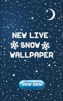 New Live Snow Wallpaper poster