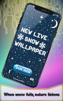 New Live Snow Wallpaper screenshot 1