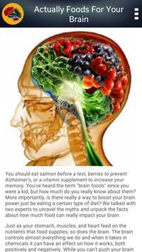 Brain Foods screenshot 7