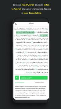Quran full read,listen,hijry calendar,prayer times screenshot 2