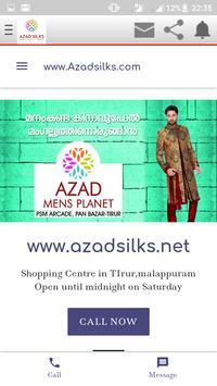 AZAD SILKS TIRUR poster