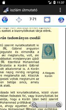 iszlám útmutató - Islamic Guide Hungarian screenshot 4