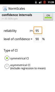 NormScales screenshot 1