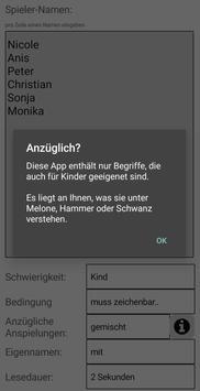 Wortliste + Spielhilfe screenshot 3