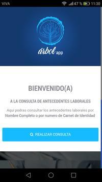 Árbol App poster
