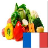 vegetables's names in french icon