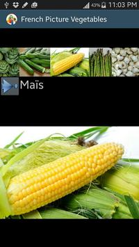 vegetables's names in french screenshot 5
