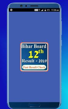 Bihar Board 12th Result 2019 poster