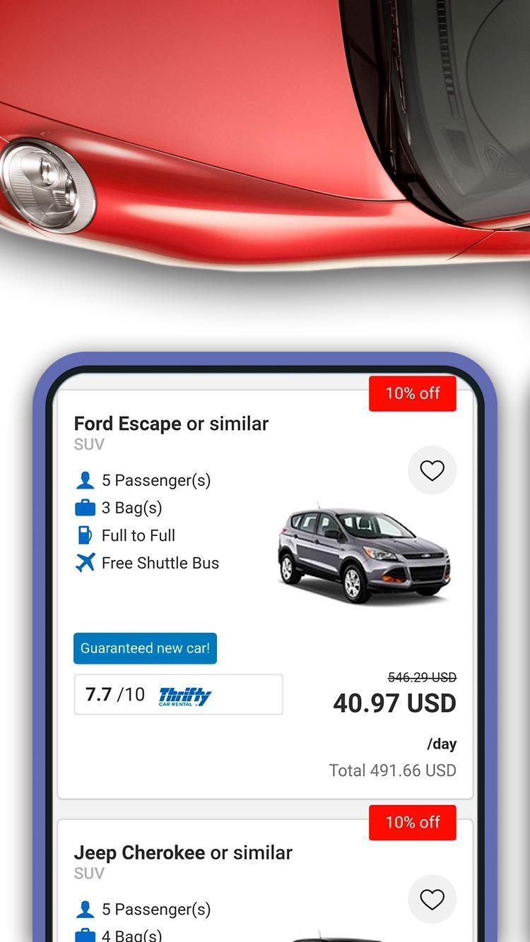 Car Rental Usa >> Bocubo Car Rental Usa Los Angeles Washington For Android