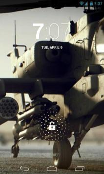 Boeing Apache Helicopter LWP poster