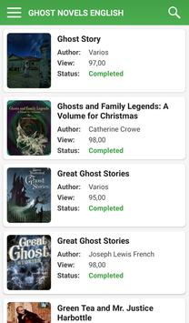 Ghost Novels English for Android - APK Download