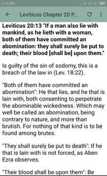 BOOK OF LEVITICUS - BIBLE STUDY screenshot 17