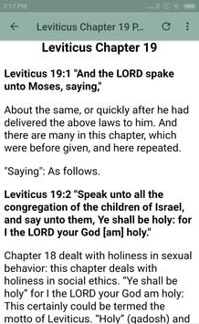 BOOK OF LEVITICUS - BIBLE STUDY screenshot 19