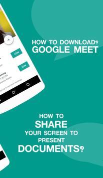 Guide Online Meet using Google screenshot 1