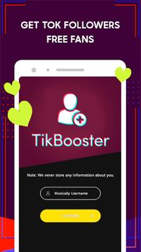 Tik-Booster™: Fans, Followers, Likes for tik-tok screenshot 1
