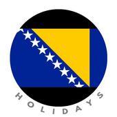 ikon Bosnia Holidays : Sarajevo Calendar