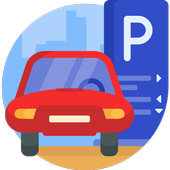 Smart parking icon