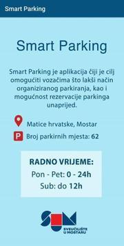Smart parking screenshot 1