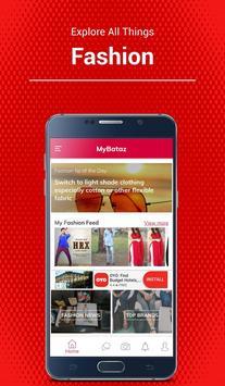MyBataz - Become a Brand Influencer poster