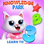Permainan kanak-kanak. Belajar abc & Buku mewarna ikon