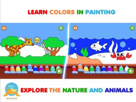 Permainan kanak-kanak. Belajar abc & Buku mewarna syot layar 12