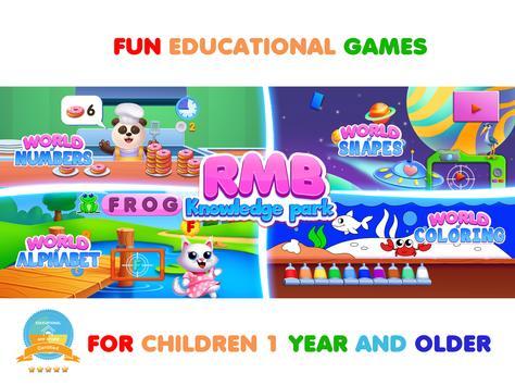 Permainan kanak-kanak. Belajar abc & Buku mewarna syot layar 8