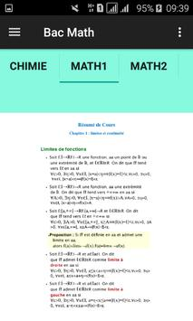 BAC TN - Cours,résumés et devoirs screenshot 3