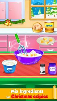 Christmas Cooking Game - Santa Claus Food Maker poster