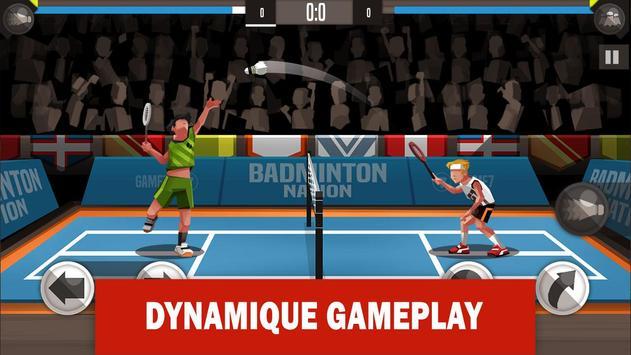Badminton League poster