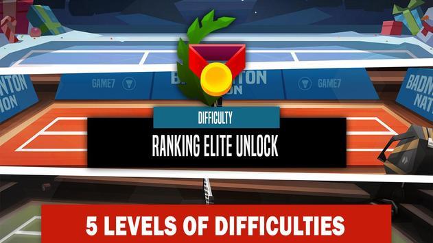 Campeonato de badminton imagem de tela 7