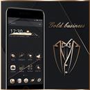 Gold Black Neat Theme APK