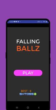 falling ballz Poster