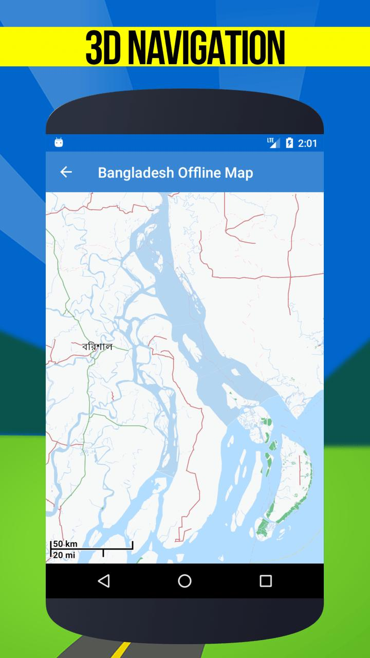 GPS Maps Of Bangladesh Fline Map For Android APK