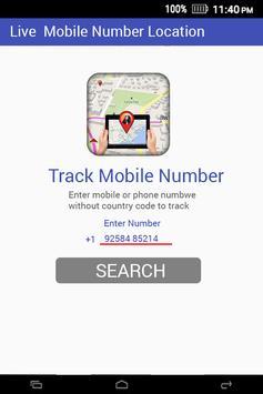 Live Mobile Number Tracker screenshot 3