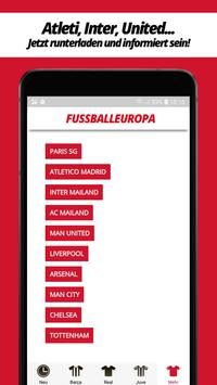 Fussball Europa screenshot 4