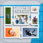 Family Photo Collage, Family Tree Photo Frame icon