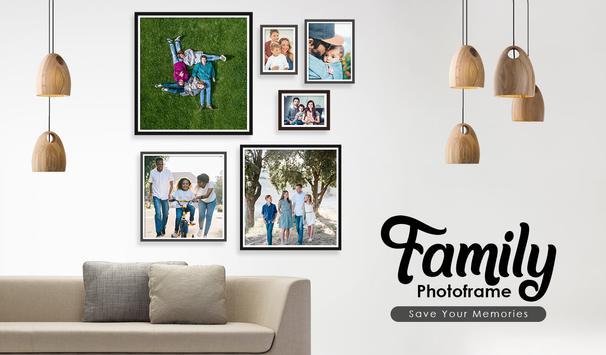 Family Photo Collage, Family Tree Photo Frame screenshot 1