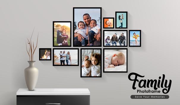 Family Photo Collage, Family Tree Photo Frame screenshot 3