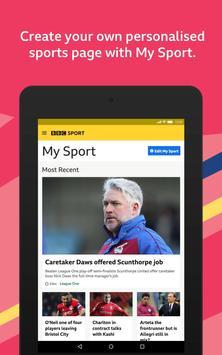 BBC Sport Ekran Görüntüsü 11