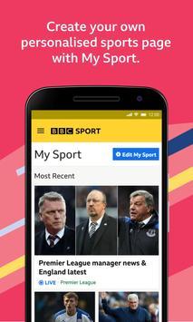 BBC Sport स्क्रीनशॉट 1