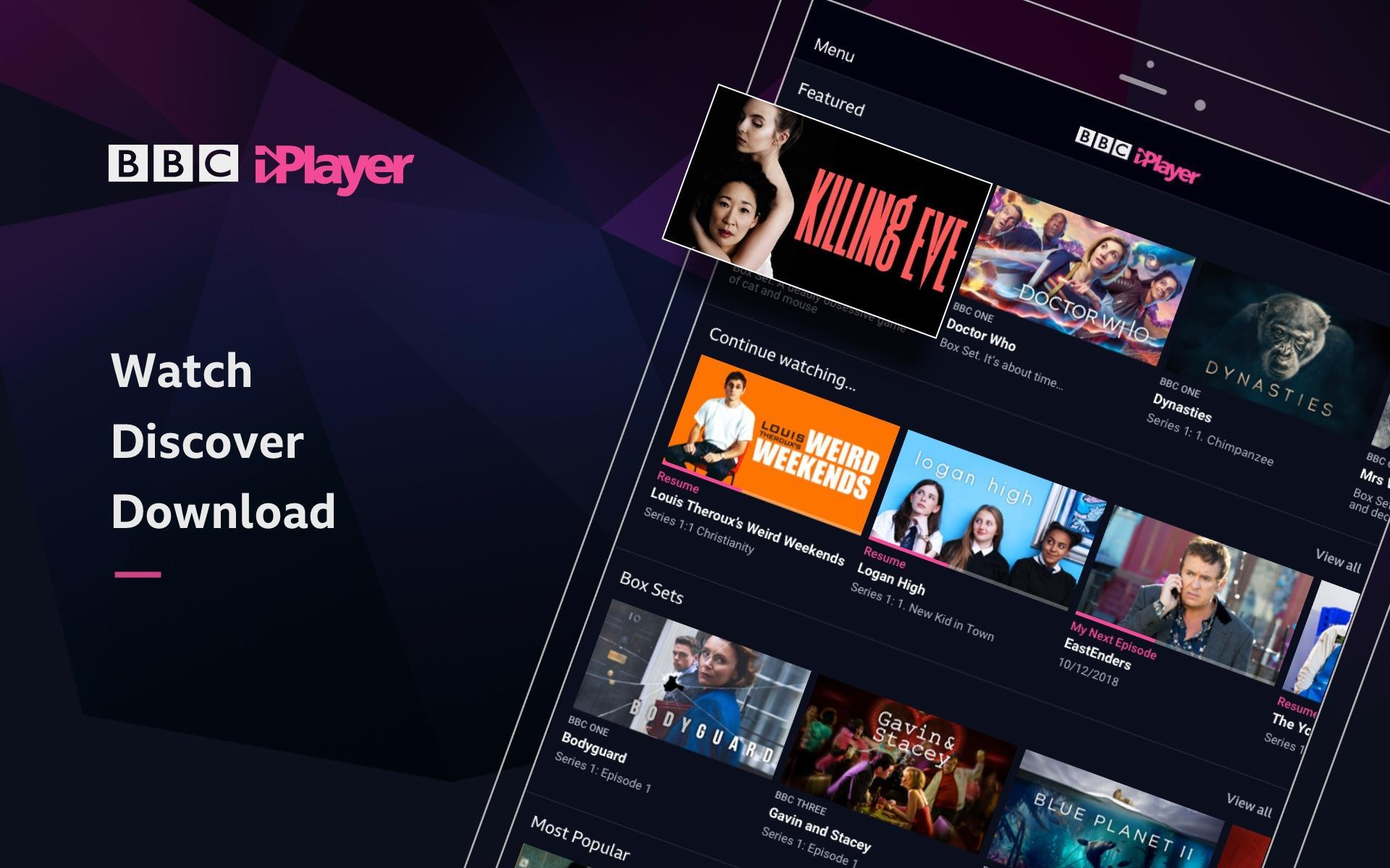 BBC iPlayer for Android - APK Download