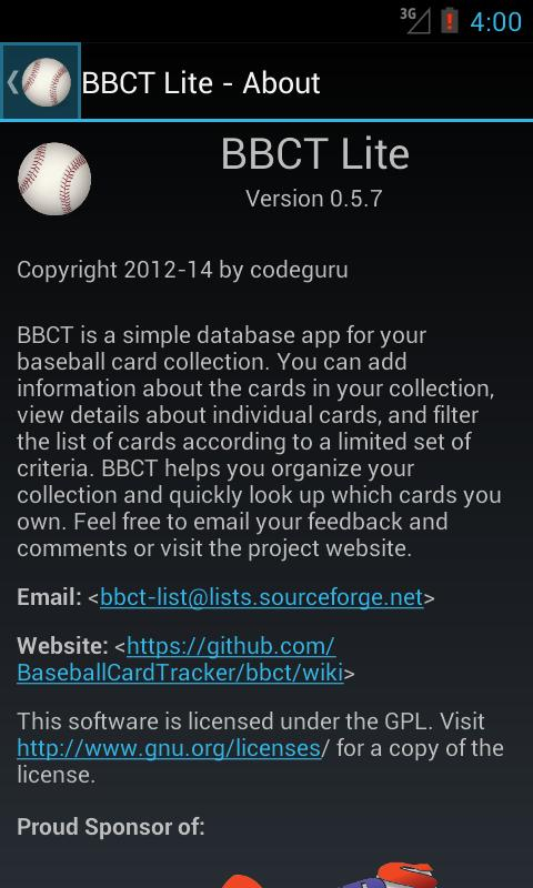 Baseball Card Tracker Lite For Android Apk Download