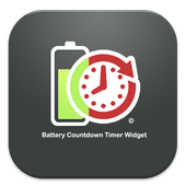 Battery Countdown Timer Widget icon