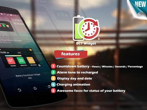 Battery Countdown Timer Widget screenshot 5