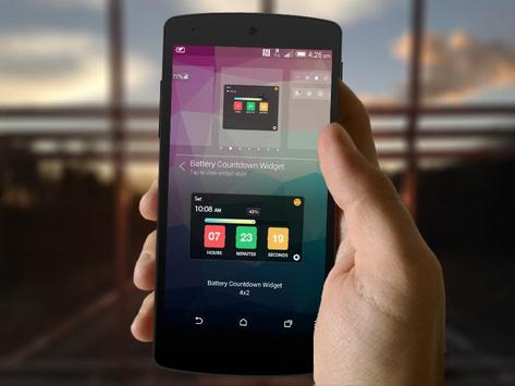 Battery Countdown Timer Widget screenshot 6