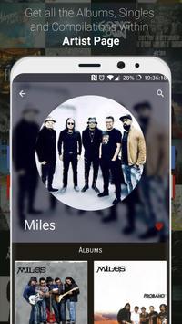 GAAN Music Player: Legal access to Bangla songs screenshot 1