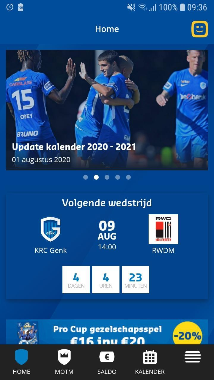 Krc Genk Official App For Android Apk Download