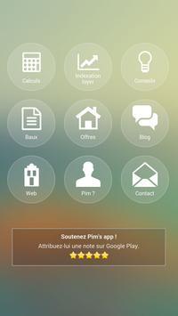 Pim's app poster