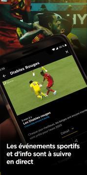 RTBF Auvio : direct et replay imagem de tela 2